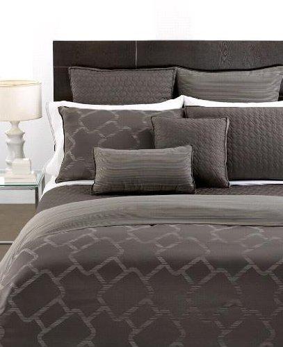 hotel Collection Bedding, Gridwork 40,6cm quadrato decorativo Cuscino trapuntato in
