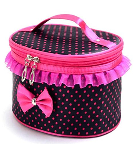 Cosmetic Bag portatile toilette Viaggi trucco,Fami