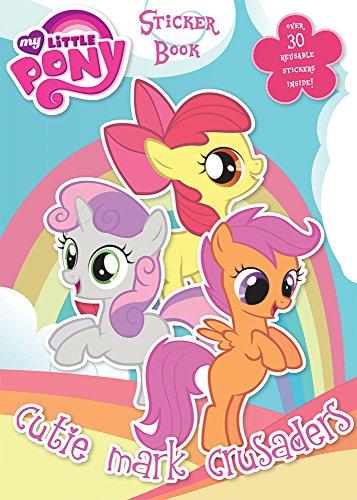 Aufkleber Buch, Kunststoff, mehrfarbig (My Little Pony-wiederverwendbare Aufkleber)