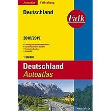 Falk Autoatlas Falkfaltung Deutschland 2018/2019 1:500 000 (Falk Atlanten)