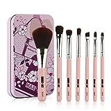 Nouveau 7 pièces de Maquillage Brosse Set,WUDUBE Tools Make-Up Kit de Toilette Laine...