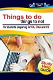 Things To Do Things To Not For Students Preparing For CA, CMA and CS