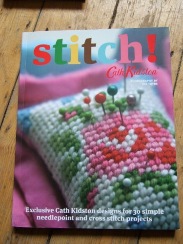 Stitch Cath Kidson 30 simple needlepoint and cross stitch projects exclusive Cath Kidston designs