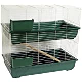 2 tier and guinea pig cages pens for Plastic bin guinea pig cage