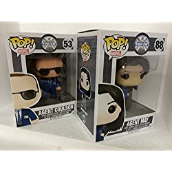 Funko POP! Marvel Agents of Shield: Coulson + Malinda May