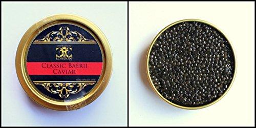125 gr. Clásico Baerii Caviar (esturión siberiano). Entrega Express 5-10 €.