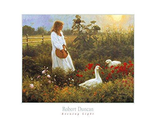 Robert Duncan Poster Kunstdruck Bild Evening Light 50x64cm (Robert Duncan Bilder)