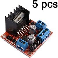 Gaoxing Tech. Consiglio 5PCS doppia H CC del ponticello di Stepper Motor Drive Controller Module L298N per Arduino