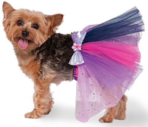 Rubies Costume 580497 _ S-M MY LITTLE PONY Twilight Sparkle Pet Tutu, (Kostüm Pony Für Hunde My Little)