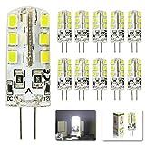 MUMENG 10Pcs G4 Ampoule LED Lampe Blanc Froid 6000-7000k...