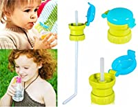Anti-Spill Baby Bottled Drink Straw Cover