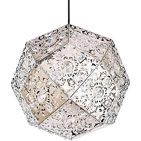 FULL Decorazione della casa di progettazione moderna albergo soggiorno palla da letto diamante ha portato il lampadario di cristallo rotonda, senza luce