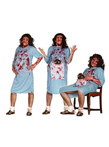 Déguisement Zombie Enceinte Adulte Halloween Taille Unique