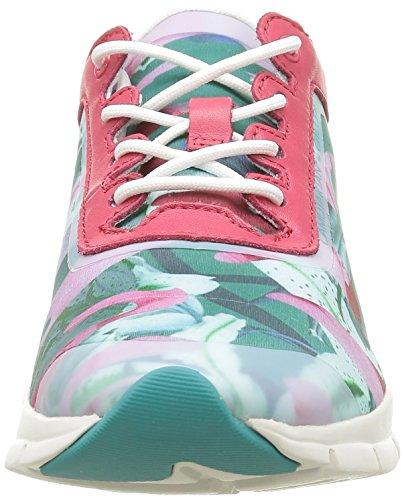 Geox D Sukie E, Baskets Basses Femme Multicolore (C3B7G)