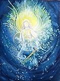 silwi-art***** Engelbild Erzengel Michael Engelposter 30 x 40 cm limitiert Schutzengelbild