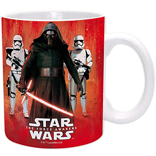 Star Wars - Taza Kylo Ren & Troopers 320ml