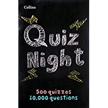 Collins Quiz Night: 10,000 original questions in 500 quizzes (English Edition)