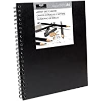 Royal & Langnickel A4 8.3 x 11.7 inch Sketchbook with Spiral Side (80 Sheets)