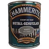 AKZO NOBEL (DIY HAMMERITE) metalen beschermende lak mat grijs 0,750 L, 5134936