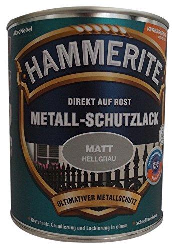 Hammerite glänzend Silber