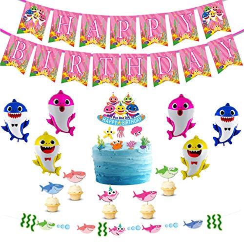 - Shark Geburtstag Party Supplies