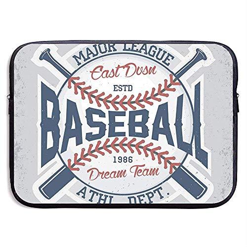 Baseball Laptop Sleeve Tasche Portable Zipper Laptop-Tasche Tablet-Tasche
