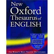 New Oxford Thesaurus of English