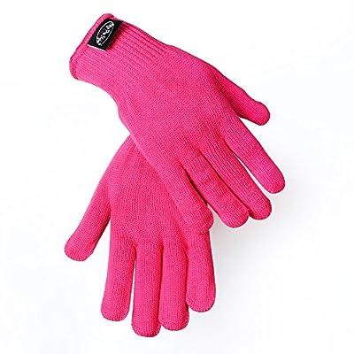 Beautystar 2 St¨¹ck Hitzeschutzhandschuh Schutzhandschuhe f¨¹r Curling, Eisstockschie?en Wand und Flat Iron, Schwarz und rosa