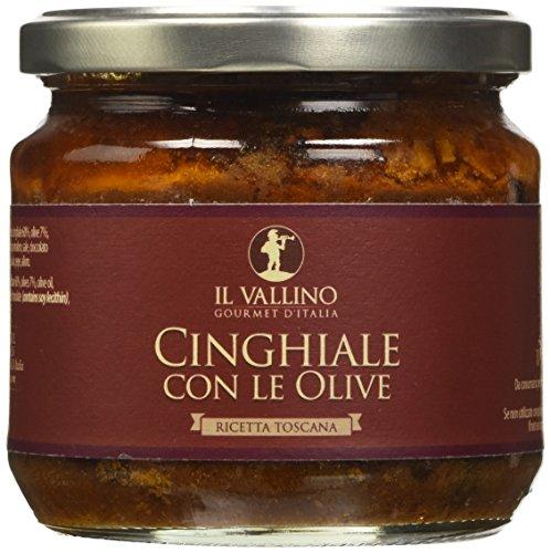 Frandi Italia Cinghiale con le Olive - 3 Confezioni da 330 g