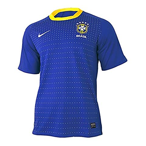 Nike Brasilien Away Jersey WM 2010 varsity royal - M