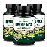 #8: Leanhealth Burner Max Pure Garcinia Cambogia Extract - 95% HCA Capsules (Pack of 3)