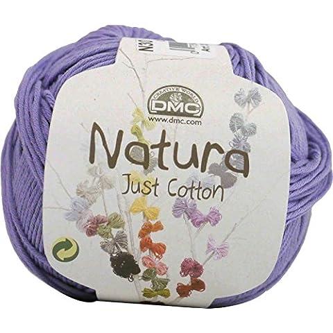 DMC Natura 50g circa 155m 1 palla col.30 / Glicine (viola) - Dmc Palla