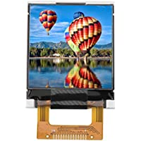 Akozon LCD Anzeigen Modul 1,44-Zoll-seriell 128 x 128 SPI Farb-TFT-LCD-Panel serielle Port-Modul
