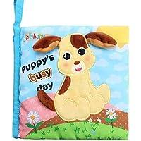 Cot Toys Baby Puzzle multifunktionale Baby / Kleinkind Spielzeug Brief Tuch Buch Babyplay Activity Book preisvergleich bei kleinkindspielzeugpreise.eu