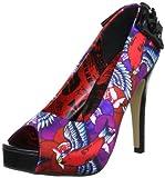 Iron Fist Damen Havana Breeze Platform Peep-Toe, Violett (Purple), 39 EU