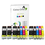 Colour Direct - 2 Ensembles + 2 Noir - Compatible 33XL Encre Cartouches Remplacement Pour Epson XP-530 XP-540 XP-630 XP-635 XP-640 XP-645 XP-830 XP-900 imprimantes. Replaces Orange series . 4 X 3351 2 X 3361 2 X 3362 2 X 3363 2 X 3364