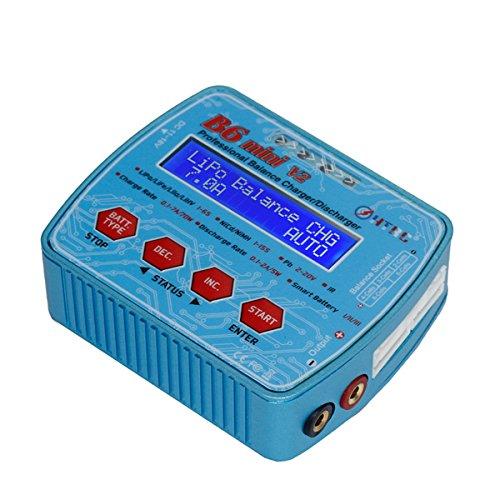 LaDicha HTRC B6 Mini V2 DC Eingang 70W 7a Professional Lipo Batterie Balance Ladegerät Entlader