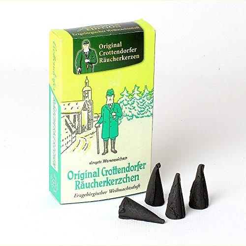 Original Crottendorfer Räucherkerzchen - Jubiläumsausgabe - Weihnachtsduft
