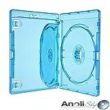 Amaray Bluray Hülle mit Einleger für 3 Disc,DVD,Blu Ray 6 Hüllen