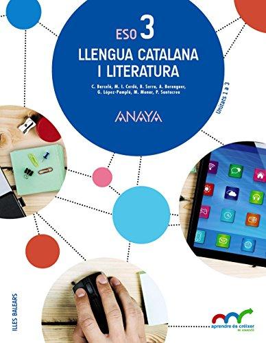 Llengua catalana i literatura 3. (Aprendre és créixer en connexió) - 9788467853155
