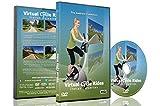 Virtuelle Fahrradstrecken - Italienische Dolomiten - für Indoor-Cycling, Laufband und...