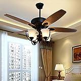 JJ LED modernos diseñadores Vintage Lámparas de techo Lámparas de techo de hierro forjado con ventiladores de techo , (220V-240V).