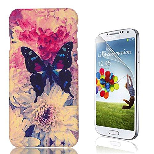 Samsung Galaxy S6 Edge Plus Caso, Samsung Galaxy S6 Edge Plus Cover, Bonice Ultra Sottile PC Hard Back Antiurto Shock-Absorption Durable Case Love + 1x Protezione Dello Schermo Screen Protector Pattern 13
