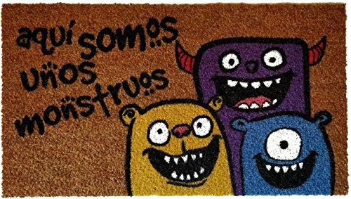 Koko doormats Felpudo Nylon - Monstruos