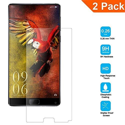 Galleria fotografica [2-Pack] Vetro Temperato per Elephone S8, Schermo HD Protector 9H Durezza