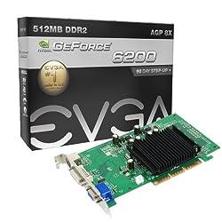 Evga Gf 6200 512mb Agp Graphics Card