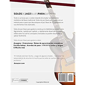 Solos de jazz blues para guitarra