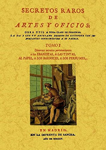 Secretos raros de artes y oficios (12 Tomos): Secretos raros de artes y oficios (Tomo 1) por Aa.Vv.