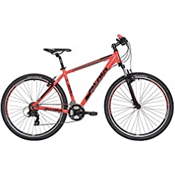 "Mountain Bike Atala REPLAY STEF VB 21V rossa nera L 20"" (185-200 cm)"