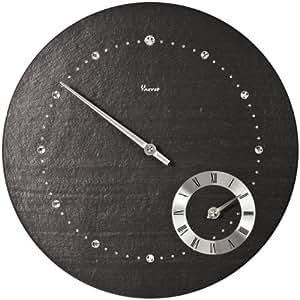 Vaerst 2784 orologio da parete al quarzo in ardesia for Ardesia per cucinare